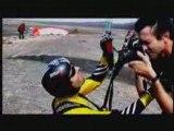 Paragliding parapente Free Flight Riding the wind