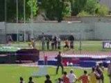 Montelimar athletisme Relais 4x100 masculin interclubs roman