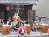 18/05/08 TAIKO tambour musique japonais KYOTO JAPAN MUSIC
