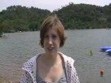 Interview de Véronique Quentin - Antibes 2008 - Finswimming