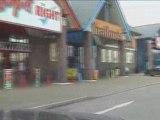 Parc-Y-Llyn Retail Park Aberystwyth Wales Road Video