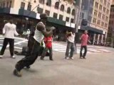 Danceurs de Hip Hop sur Manhattan