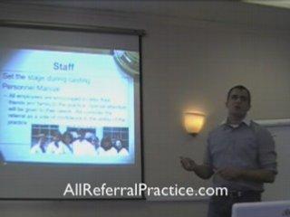 Internal Dental Marketing – Referrals From Staff
