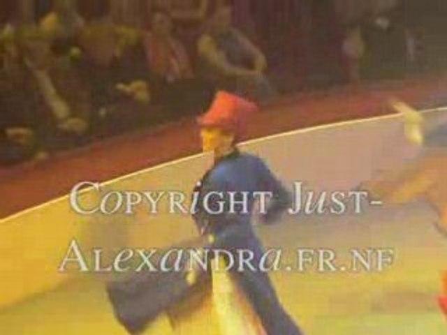 Alexandra Frouin au Cirque d'Hiver