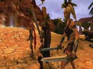 Age Of Conan Battles and Dark Creatures