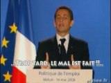 Sarkozy : le couac ANPE-ASSEDIC