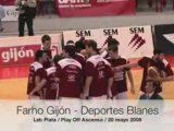 Farho Gijón- Deportes Blanes, LEB Plata