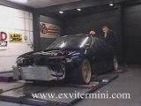 Illegal street racing Nissan Skyline R33 1000HP Dyno