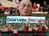 Dalai Lama protest London 22 may 2008 Royal Albert Hall
