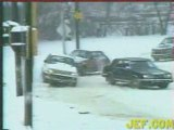 Snow drifiting! How to drift in snow! Cars, trucks, buses!