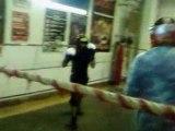 Moi a l'entrainement de boxe