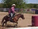 Moi et Boddy Boy le poney a mon amie!