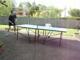 Match mon frère-moi (2ème set), (12-10 pour mon frère)