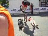 acrobatie vélo démo jours de dunkerque saint-quentin 02100