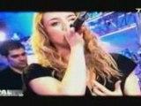 LEA CASTEL CAUET TV Dernière chance live  pressée de vivre