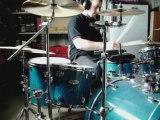 Drum batterie cover Street dogs hard luck kid punk rock