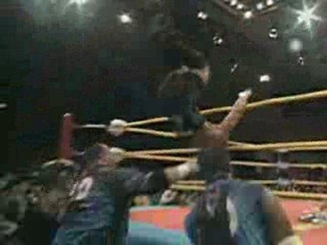 FMW - Rob Van Dam & Sabu Vs. The Dudley Boyz