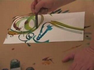 Daniel Seret peint la musique (1)