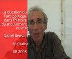 Parti et mouvement ouvrier D.Bensaid 1ère partie/4