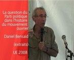 Parti et mouvement ouvrier D.Bensaid 4ème partie/4