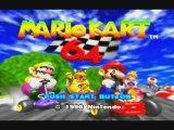 Mario Kart 64 - FilmGame 1 / Coupe Champignon
