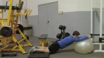 Stability Ball Abs from Testosterone Training