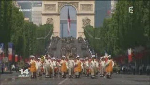 Légion Étrangère - Défilé du 14 juillet 2009