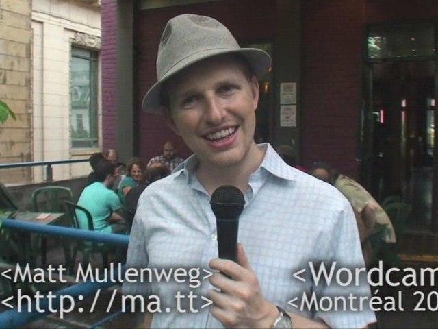 Matt Mullenweg at the Montreal Jazz & Code Festival ;)