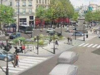 Aménagement de la Place de Clichy