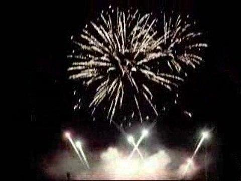 feu d'artifice 2009 à Villeneuve d'Asq