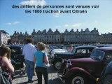 défilé pour les 75 ans de la traction avant Citroën