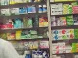 fausse pub du théâtre du nez: pharmacie