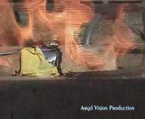 Explosion d'une batterie lithium en surcharge