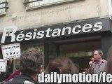 Rassemblement anti LDJ part 1 Librairie Résistances [8/7/09]