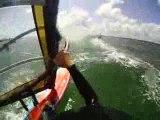 Windsurf: joli saut de Briac