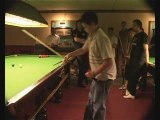 Snooker Coaching Nic Barrow with The Snooker Forum Stance 4
