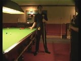 Snooker Coaching Nic Barrow with The Snooker Forum Stance 5