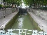 050- Une des écluses du canal Saint Martin