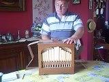 Oh when the saints sur mon mini orgue de barbarie