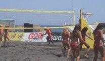 beach Volley cheerleaders Santorini - video 4