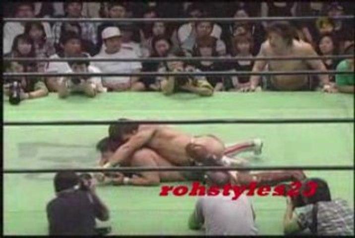 NOAH Nakajima & Sasaki VS KENTA & Shiozaki MV