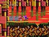 Vidéo test Knuckles Chaotix Sega Megadrive 32x