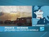 L'incendie aux portes de Marseille est circonscrit, 1 300 he