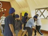 Sticks, swords and grunts: Sikh martial arts lessons