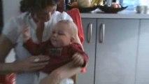 Malko dans les bras de Maman (13/07/2009)