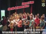 Chorales de jeunes suisse en concert à Trets