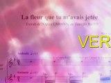 Carmen Karaoké La fleur que tu m'avais jetée Georges Bizet