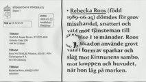 Rebecka Roos, Nathalie Nikadon och Hanna Brown fick fängelse