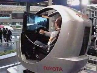 Simulateur de conduite Toyota