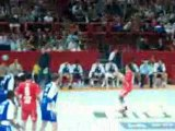 tournoi hand ball  bercy 2008 JO2008 france tunisie